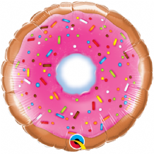 "Donut Foil Balloon (9"" Air-Fill) 1pc"